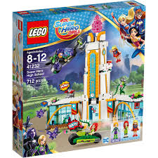 Конструктор LEGO DC Super Hero Girls 41232: Школа супергероев