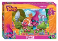 "Пазлы Step Puzzle MAXI ""Trolls"", 35 элементов."