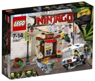 Конструктор LEGO NINJAGO MOVIE 70607: Ограбление киоска в НИНДЗЯГО Сити