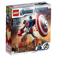 Конструктор LEGO Marvel Super Heroes 76168: Капитан Америка: Робот