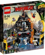 Конструктор LEGO NINJAGO MOVIE 70631: Логово Гармадона в жерле вулкана
